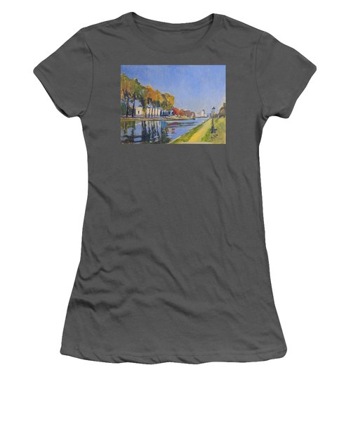 Musee La Boverie Liege Women's T-Shirt (Athletic Fit)