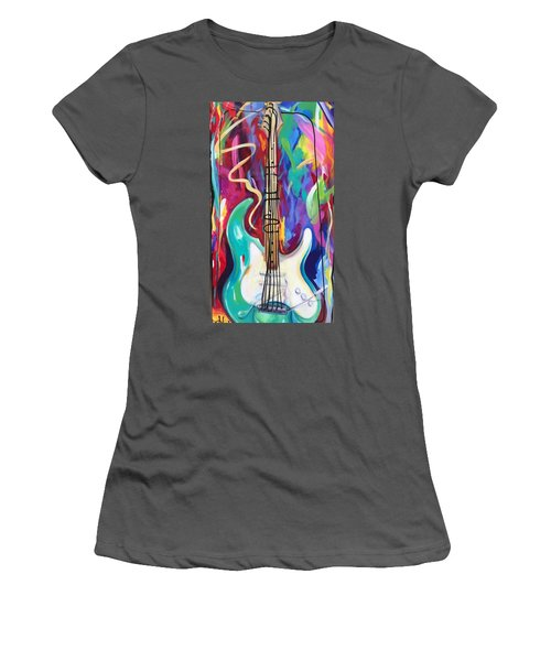 Musical Whimsy  Women's T-Shirt (Junior Cut) by Heather Roddy