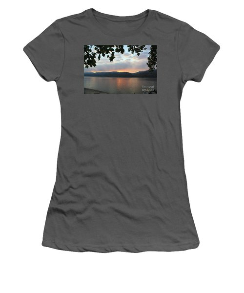 My Birthday Sunrise Women's T-Shirt (Athletic Fit)