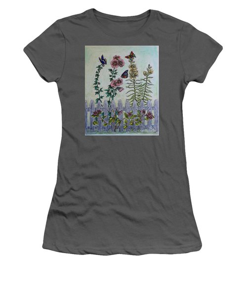 My Garden Women's T-Shirt (Junior Cut) by Kim Jones