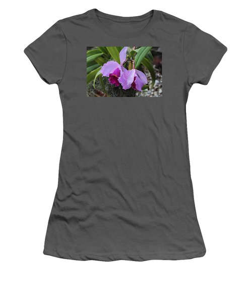 Women's T-Shirt (Athletic Fit) featuring the photograph My Orbit by Michiale Schneider