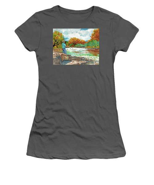 My Time Women's T-Shirt (Athletic Fit)