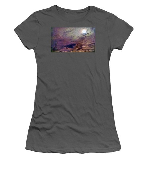 Mystery Sky Women's T-Shirt (Athletic Fit)