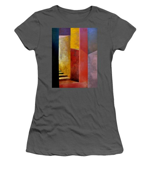 Mystery Stairway Women's T-Shirt (Athletic Fit)