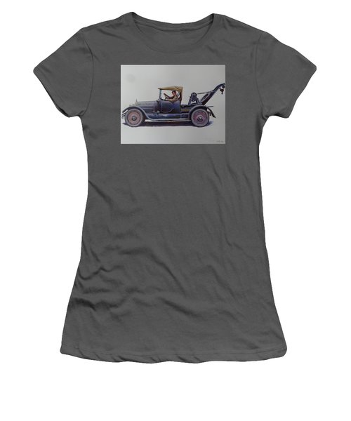 Mystery Wrecker 1930. Women's T-Shirt (Junior Cut) by Mike  Jeffries