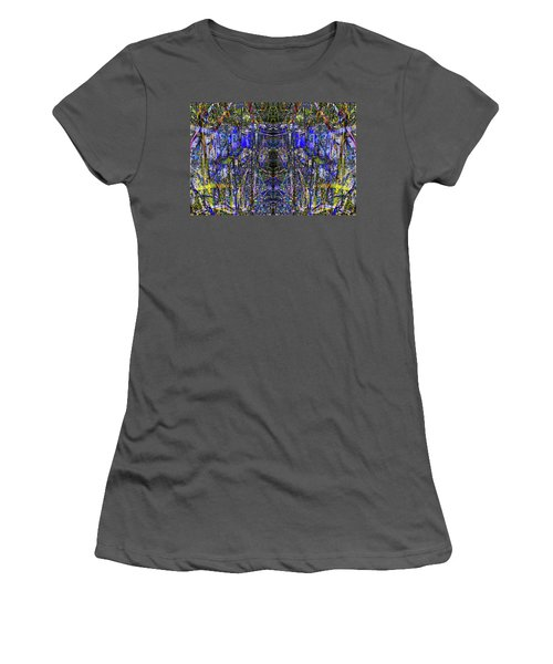 Winter Walk In The Weeds Women's T-Shirt (Athletic Fit)