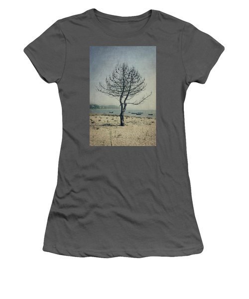 Women's T-Shirt (Junior Cut) featuring the photograph Naked Tree by Marco Oliveira