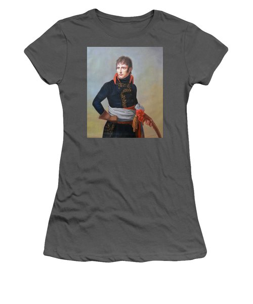 Napoleon Bonaparte As First Consul Women's T-Shirt (Athletic Fit)