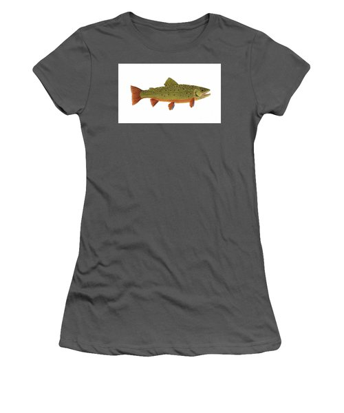 Native Brook Trout Women's T-Shirt (Athletic Fit)