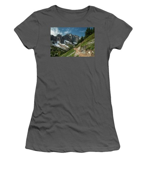 Natural Cathedral Women's T-Shirt (Athletic Fit)