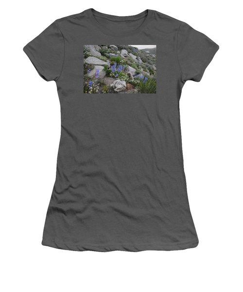 Natural Garden Women's T-Shirt (Junior Cut) by Jenessa Rahn