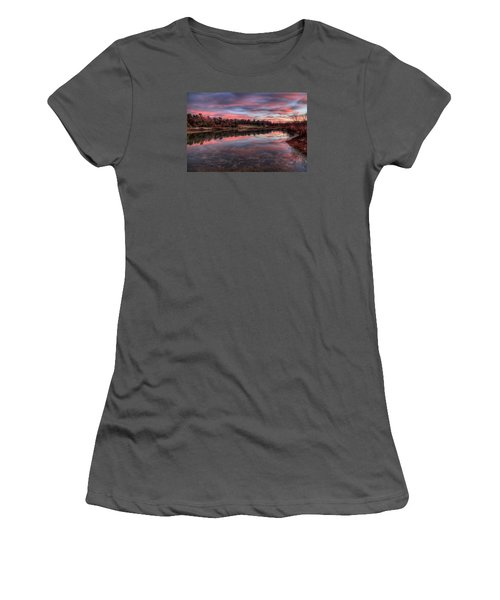 Nature Reserved Women's T-Shirt (Athletic Fit)