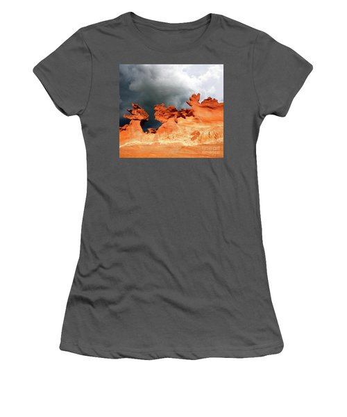Nature's Artistry Nevada Women's T-Shirt (Junior Cut) by Bob Christopher