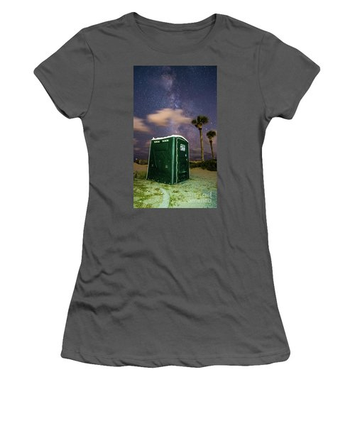 Nature's Calling Women's T-Shirt (Athletic Fit)