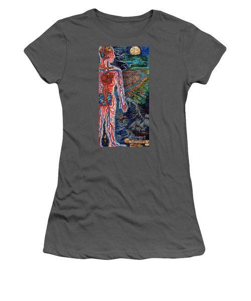 Navigation Women's T-Shirt (Athletic Fit)
