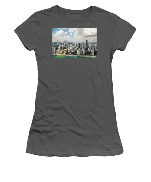 Near North Side And Gold Coast Women's T-Shirt (Athletic Fit)