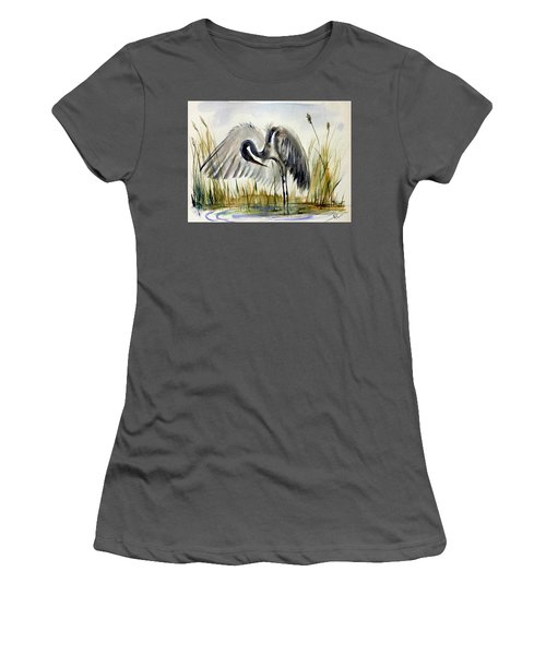 Near The Pond 3 Women's T-Shirt (Athletic Fit)