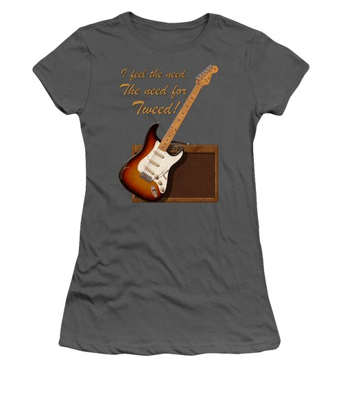 Need For Tweed T Shirt Women's T-Shirt (Junior Cut) by WB Johnston