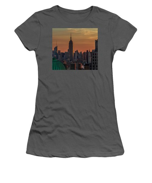 Never Give Up On Your Dreams  Women's T-Shirt (Junior Cut) by Anthony Fields