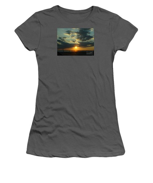 New Horizon Women's T-Shirt (Junior Cut) by Lyric Lucas