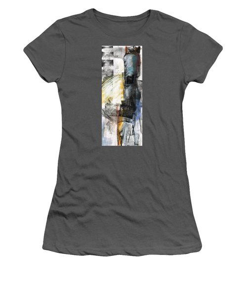 Women's T-Shirt (Junior Cut) featuring the painting New Mexico Horse Art by Frances Marino