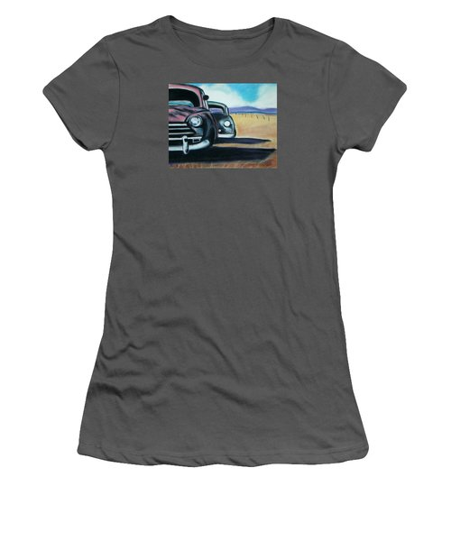 New Mexico Junkyard Women's T-Shirt (Athletic Fit)