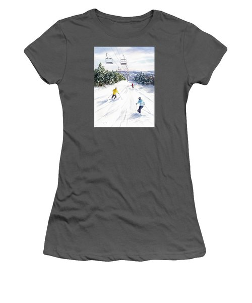 New Snow Women's T-Shirt (Athletic Fit)
