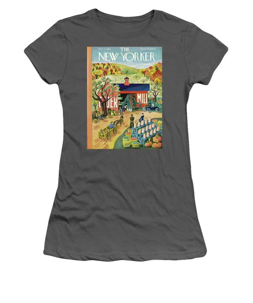 New Yorker October 4 1941 Women's T-Shirt (Athletic Fit)
