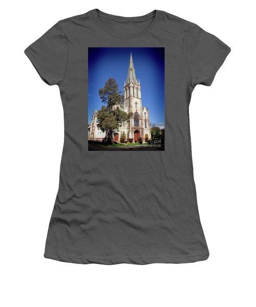 Newburgh First United Methodist Church Women's T-Shirt (Athletic Fit)