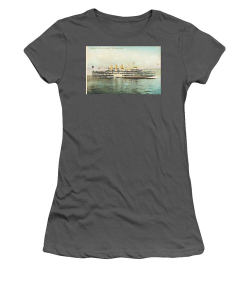 Newburgh Steamers Ferrys And River - 30 Women's T-Shirt (Athletic Fit)