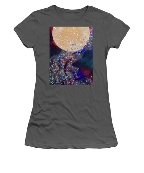 Night Magic Women's T-Shirt (Athletic Fit)