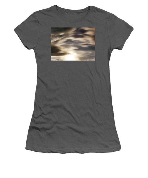 Women's T-Shirt (Junior Cut) featuring the photograph Night Sky 1 by Leland D Howard