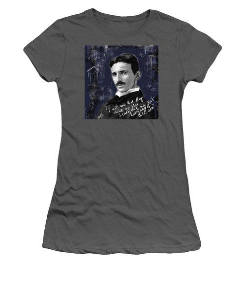 Nikola Women's T-Shirt (Athletic Fit)