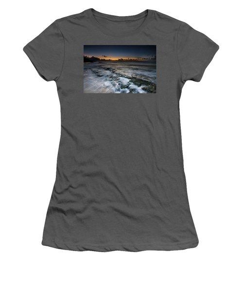 Nimitz Beach Sunrise Women's T-Shirt (Athletic Fit)