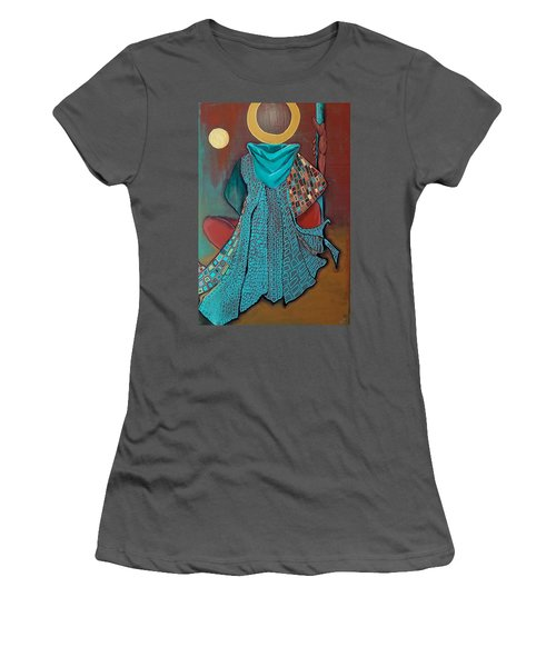 Nor The Moon By Night Women's T-Shirt (Athletic Fit)