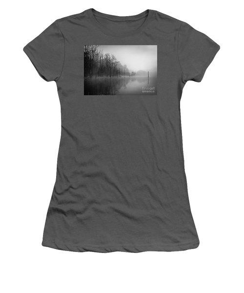 Norris Lake April 2015 3 Women's T-Shirt (Junior Cut) by Douglas Stucky