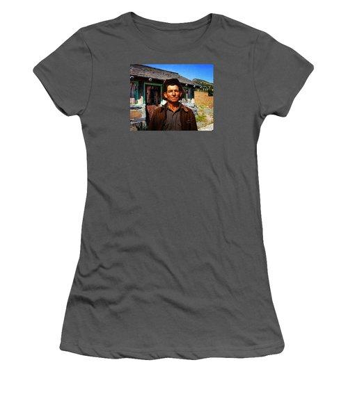 Norris' New Digs Women's T-Shirt (Junior Cut) by Timothy Bulone