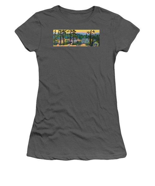 North Shore Women's T-Shirt (Junior Cut) by Rodger Ellingson
