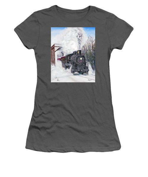 Northbound At 35 Below Women's T-Shirt (Athletic Fit)