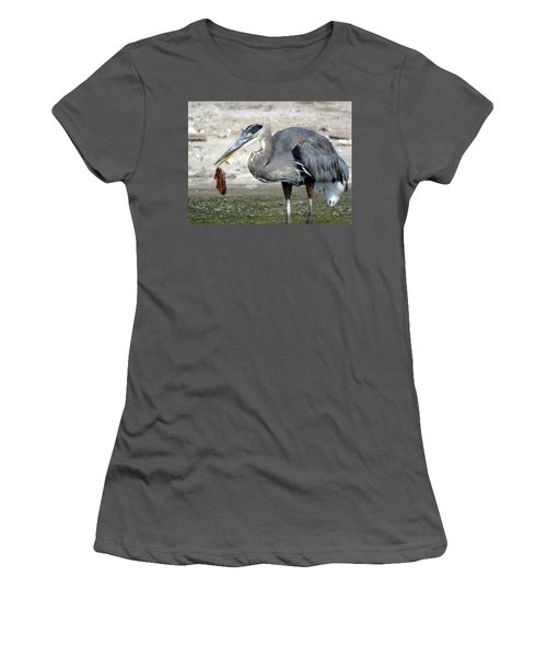 Not A Fish Women's T-Shirt (Junior Cut) by Phyllis Beiser