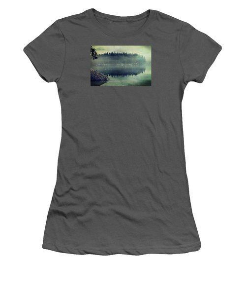 November Afternoon Women's T-Shirt (Athletic Fit)