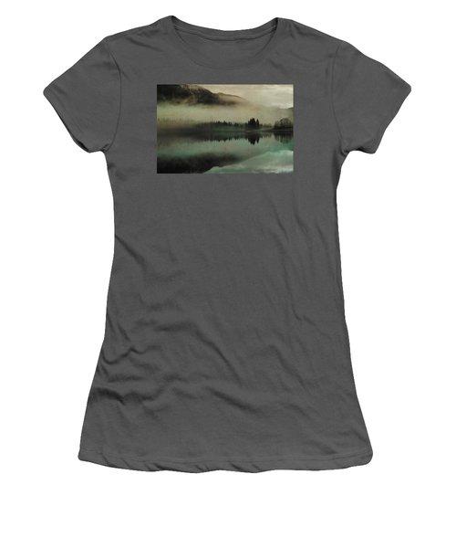 November Lake Women's T-Shirt (Athletic Fit)
