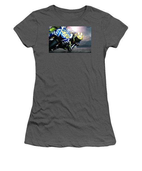 Number 46 Women's T-Shirt (Junior Cut) by Bill Stephens