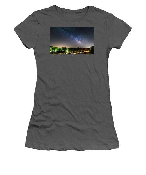 Oak Orchard Milky Way Women's T-Shirt (Athletic Fit)