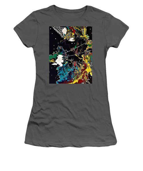 Obscurity Has A Great Many Elbows Women's T-Shirt (Athletic Fit)