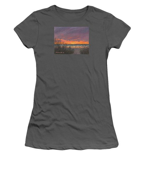 Ocean Daybreak # 2 Women's T-Shirt (Athletic Fit)