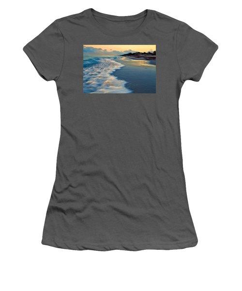 Ocean In Motion Women's T-Shirt (Athletic Fit)
