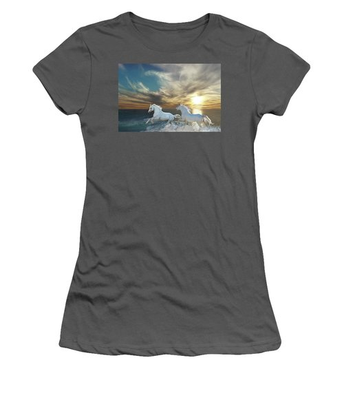 Ocean Play Women's T-Shirt (Athletic Fit)