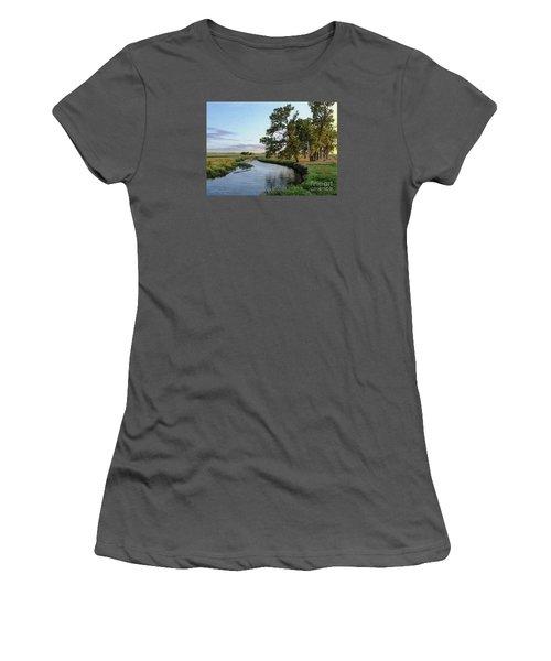 Ocheyedan Evening Women's T-Shirt (Athletic Fit)