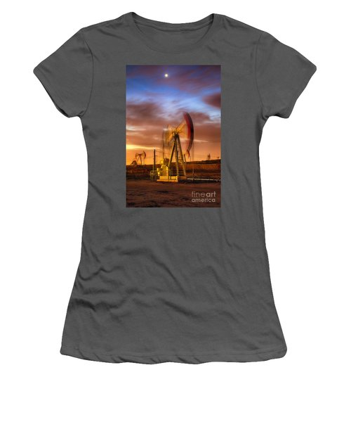Oil Rig 1 Women's T-Shirt (Athletic Fit)